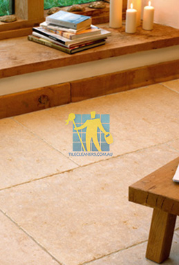 limestone tiles tumbled jerusalem gold Karrinyup cleaning