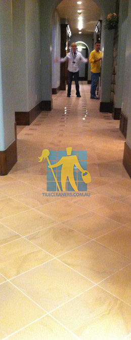 traditional entry with large porcelain tiles were laid in a basketweave pattern West Swan